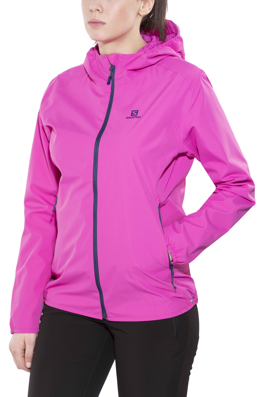 c053f4382fb Salomon Essential Jas Dames roze l Online outdoor shop Campz.nl